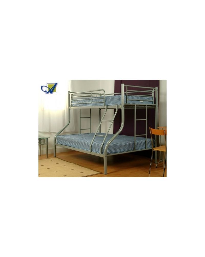 Triple Sleeper Bunk Bed Frame (Single and Double Bunk)